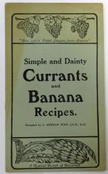 Simple and Dainty Currants and Banana Recipes