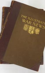 The Illustrated War News Being a Pictorial Record of the Great War Volumes 1 and 2 only