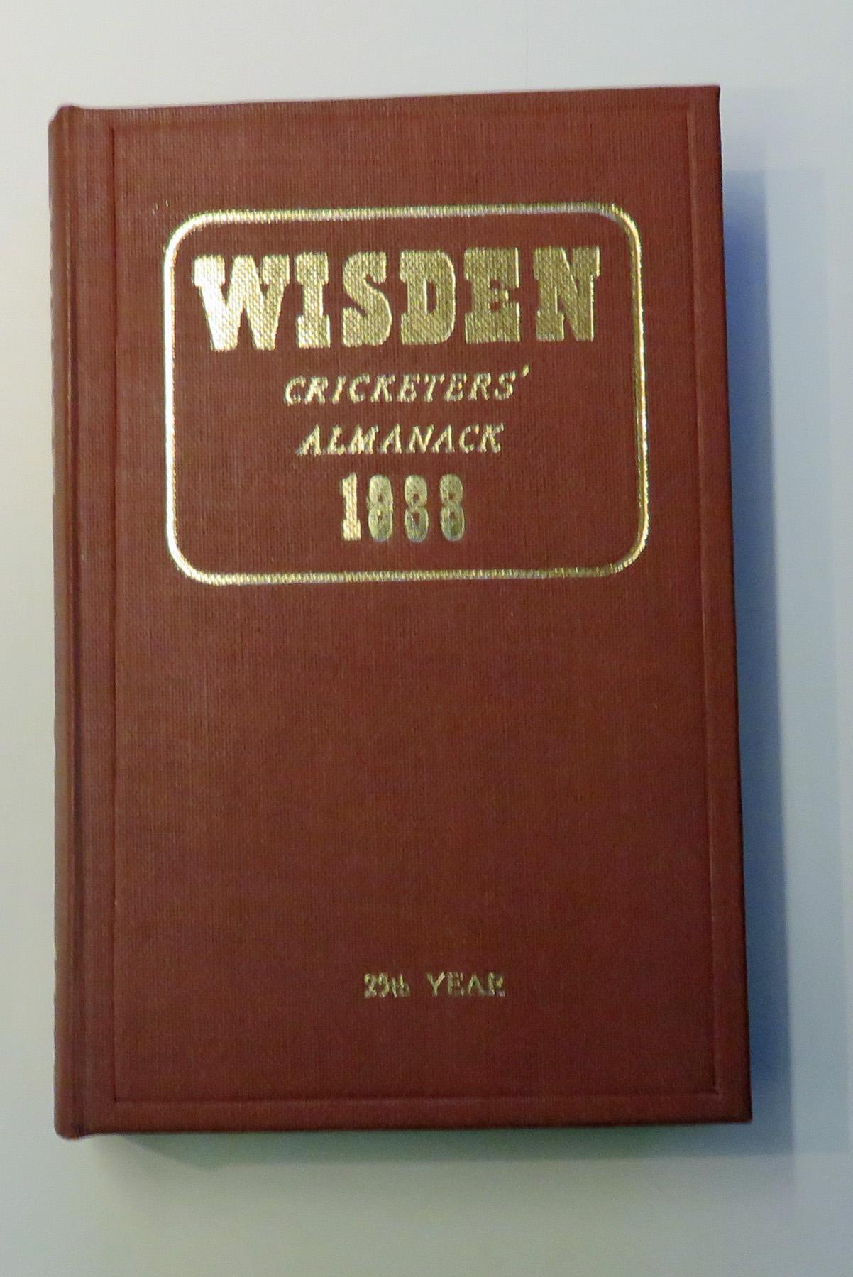 **John Wisden's Cricketers' Almanack For 1888