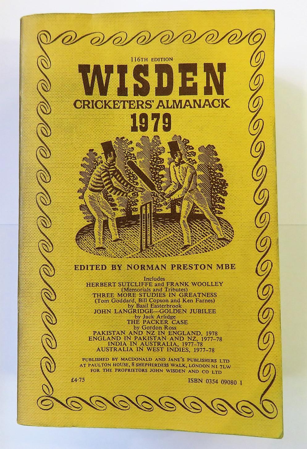 Wisden Cricketers' Almanack 1979