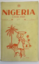 Nigeria a Quarterly Magazine of General Interest Number 27 1947
