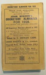 John Wisden's Cricketers' Almanack For 1928