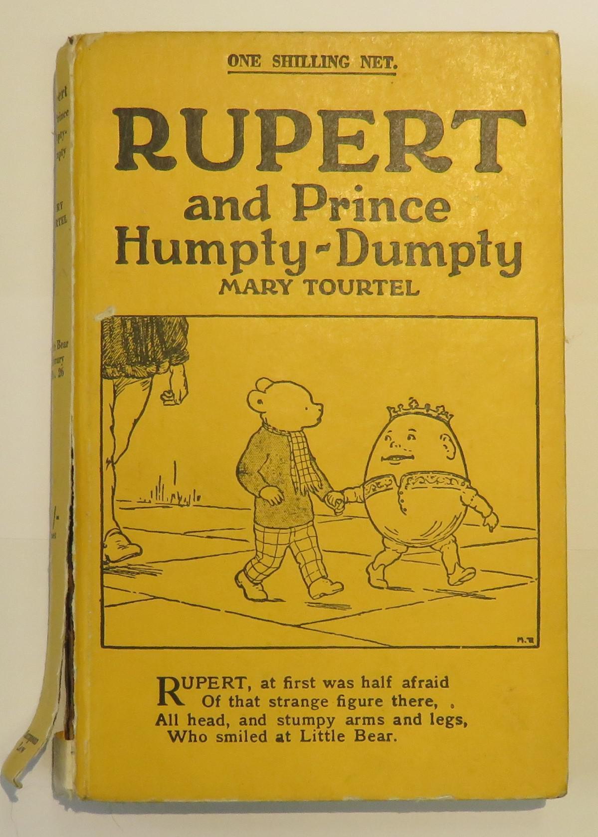 Rupert and Prince Humpty-Dumpty