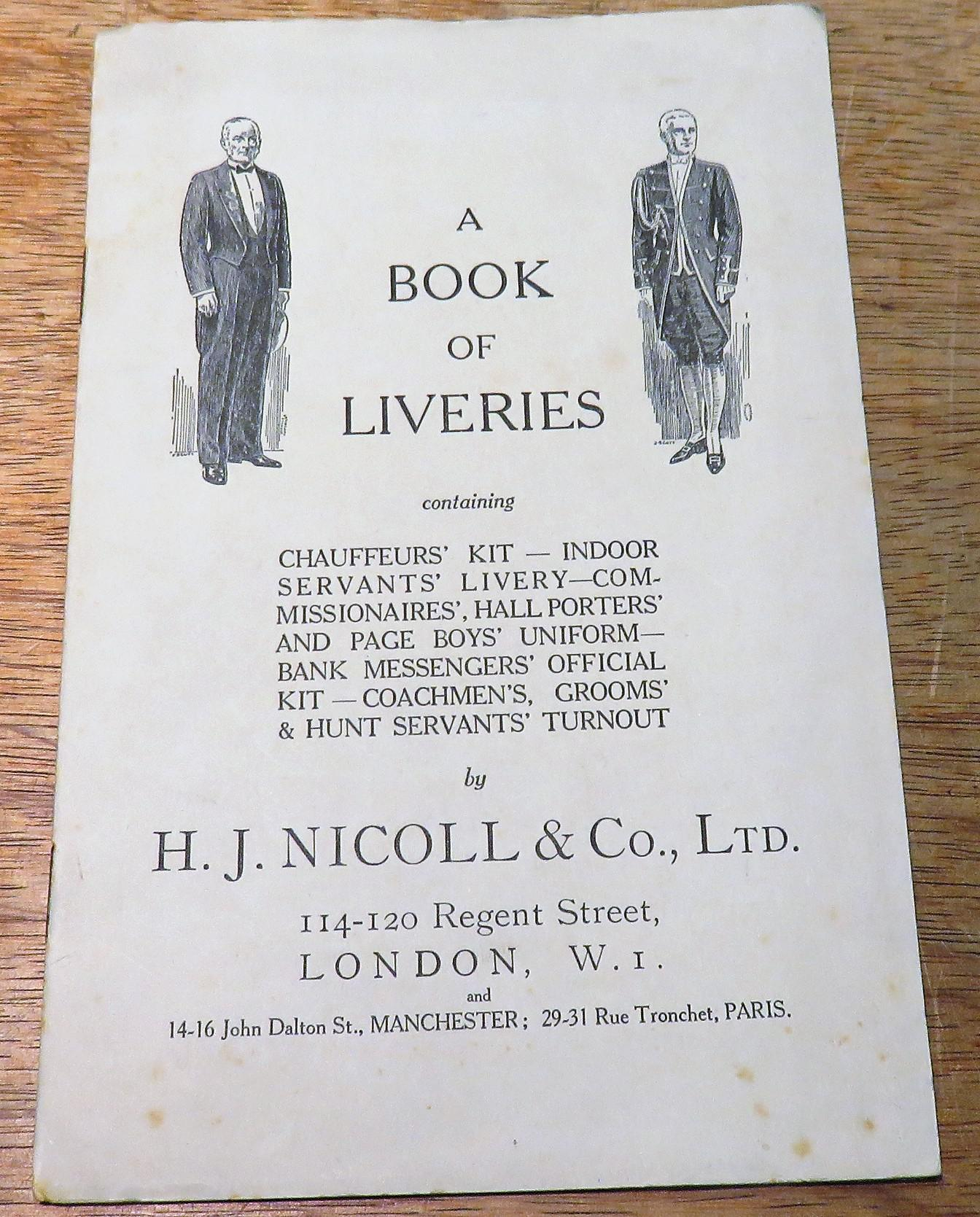A Book of Liveries