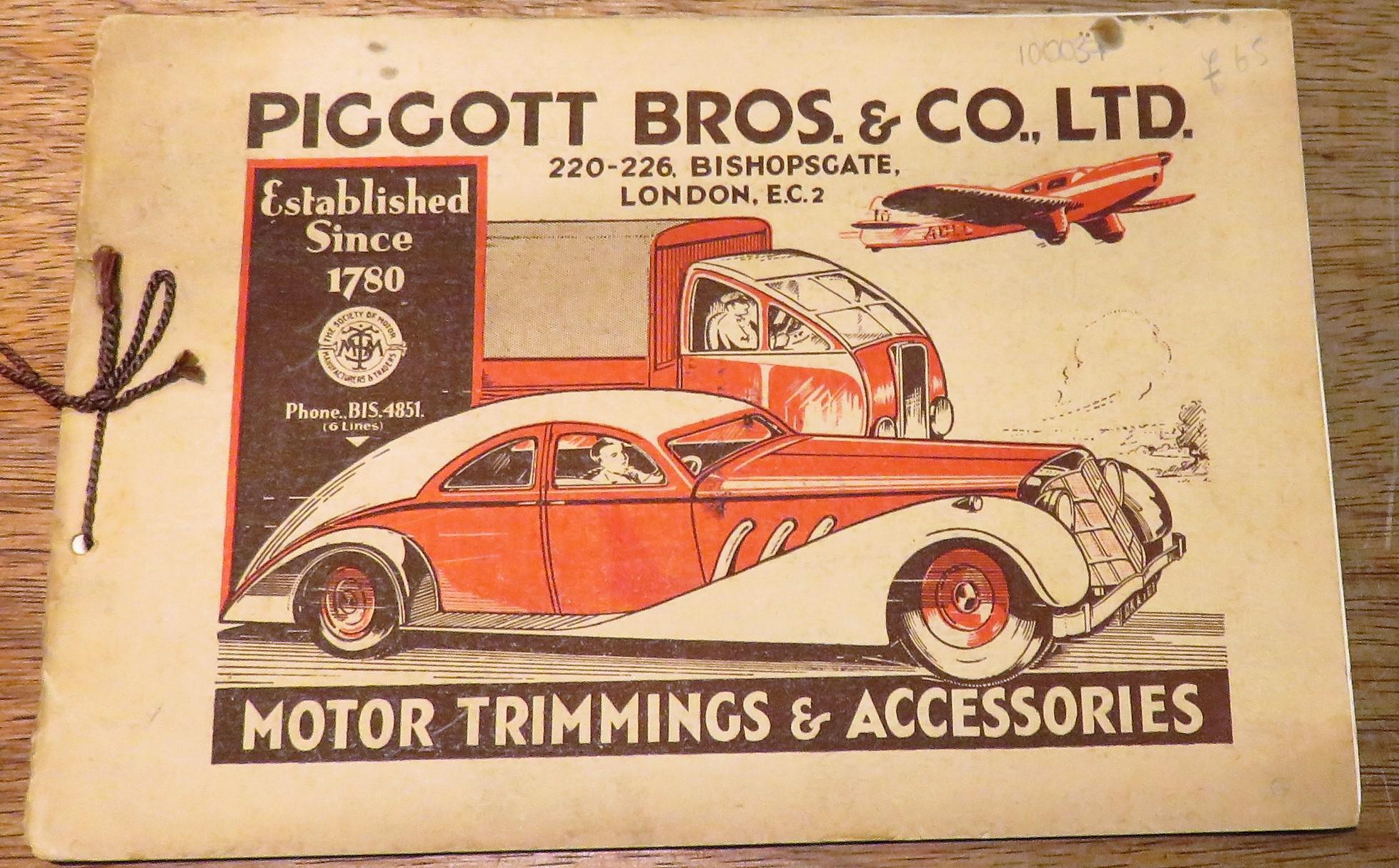 Piggott Bros. & Co., Ltd. Motor Trimmings & Accessories