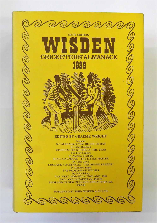 Wisden Cricketers' Almanack 1989
