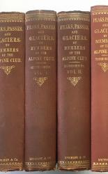 Peaks, Passes, and Glaciers. By Members of The Alpine Club in Four Volumes