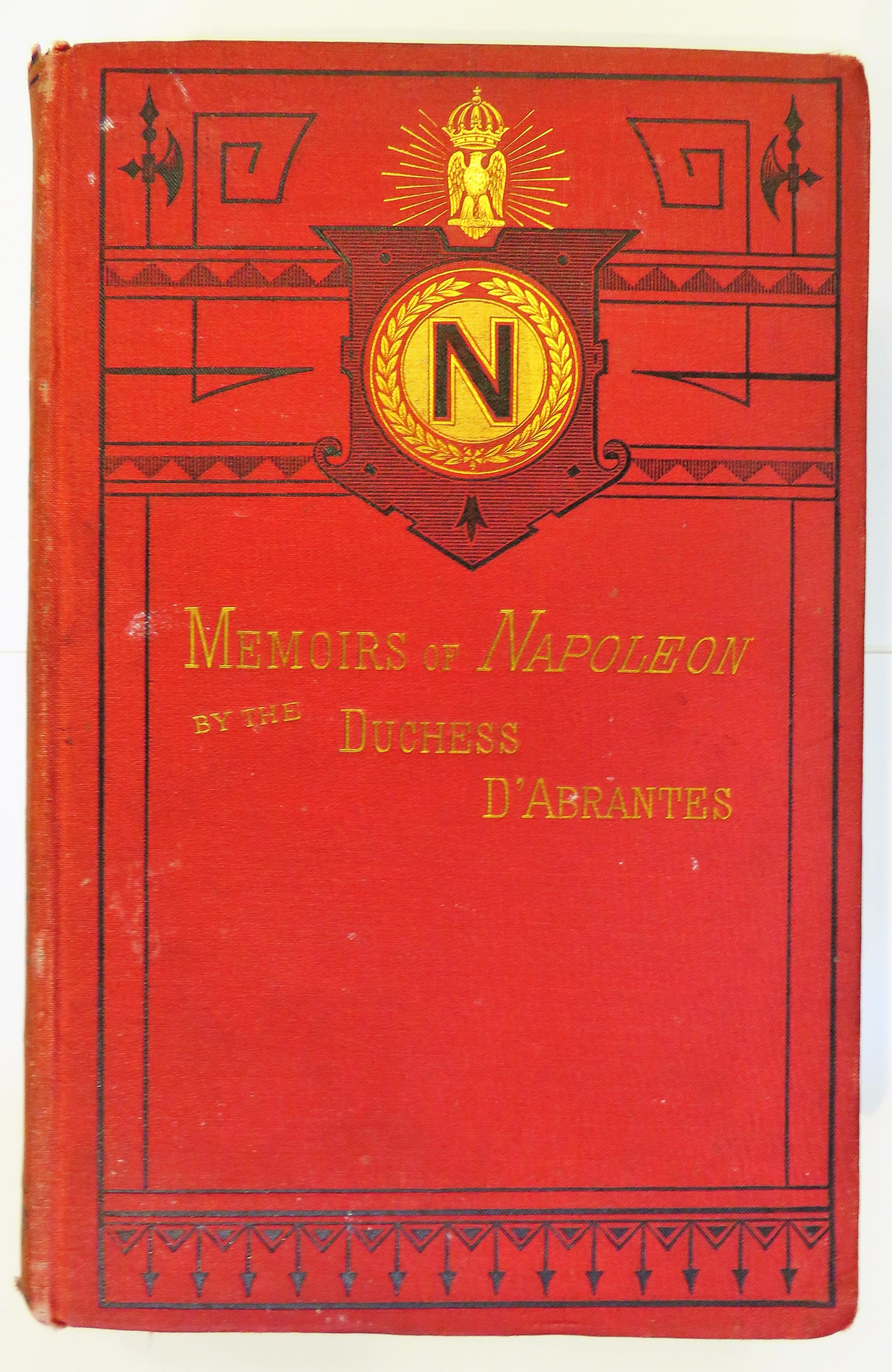 Memoirs Of Napoleon His Court And Family in two volumes