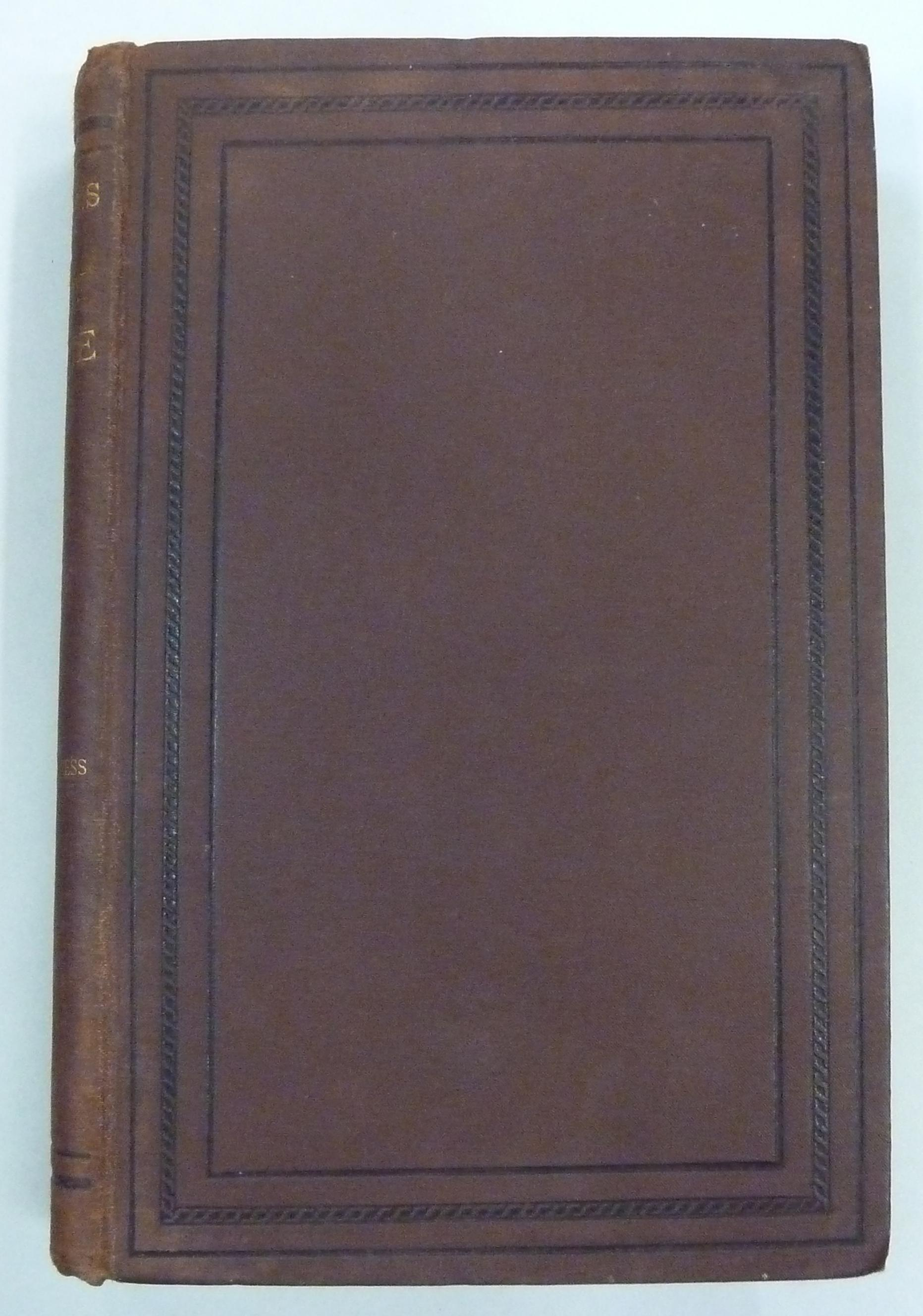 Transactions of The Sanitary Institute Volume X Congress at Worcester 1888-9