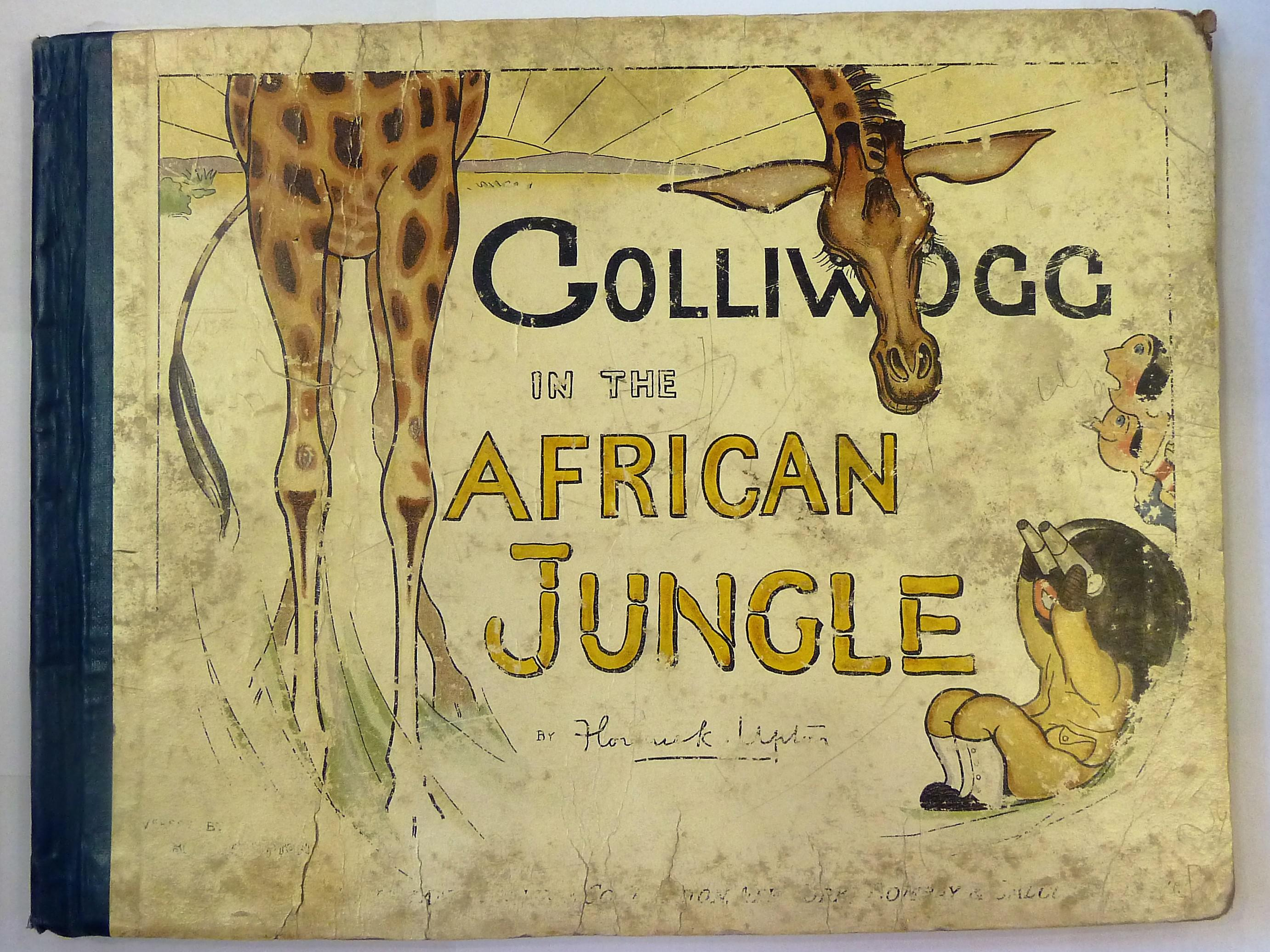 Golliwogg In the African Jungle