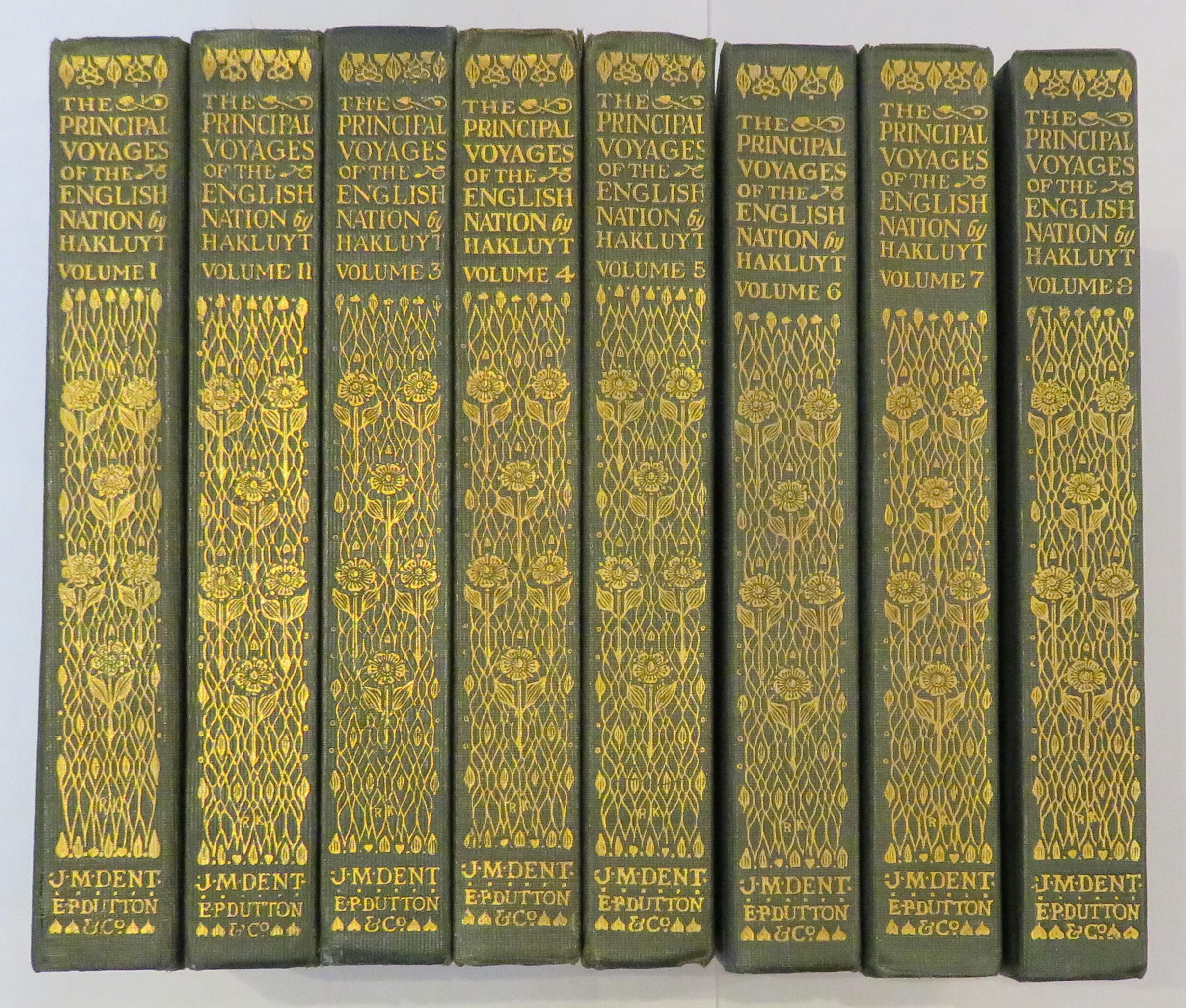 The Principal Navigations, Voyages, Traffiques and Discoveries of the English Nation: Complete in Eight Volumes