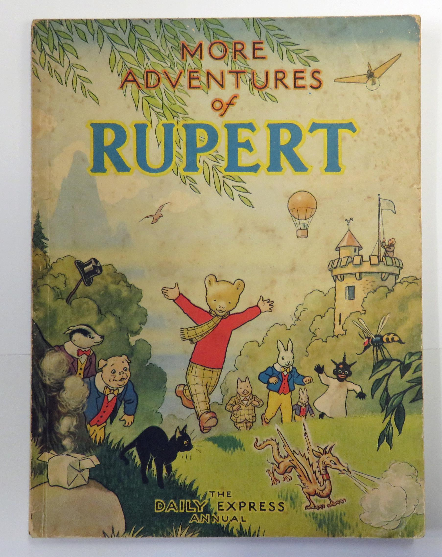 More Adventures of Rupert Daily Express Annual for 1947