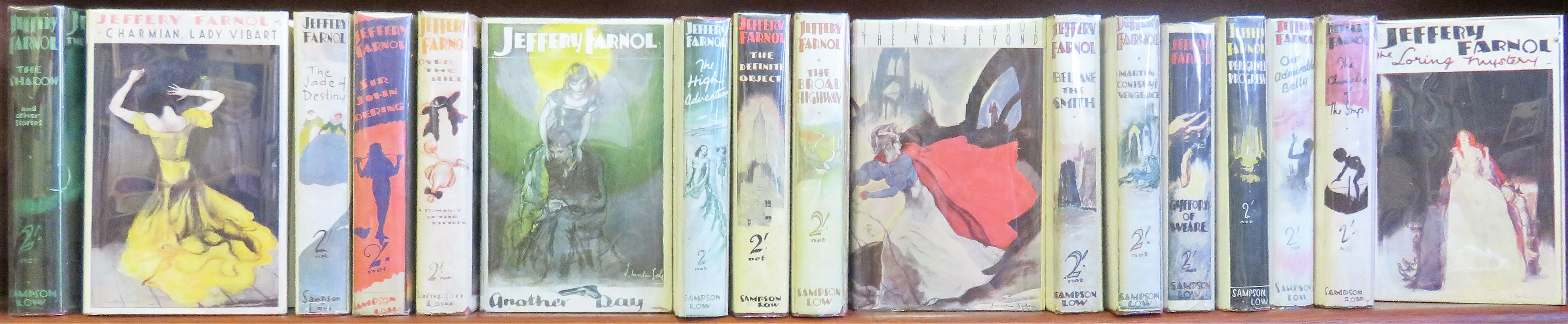 Jeffery Farnol 17 Volume Set