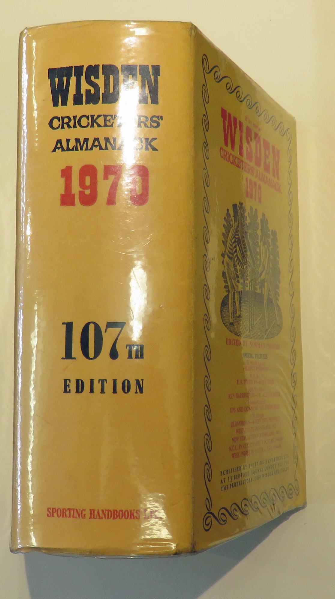 Wisden Cricketers' Almanack 1970