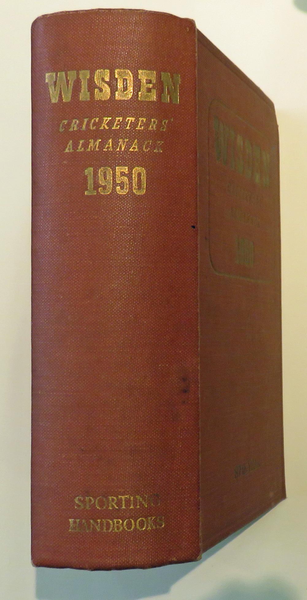 Wisden Cricketers' Almanack 1950