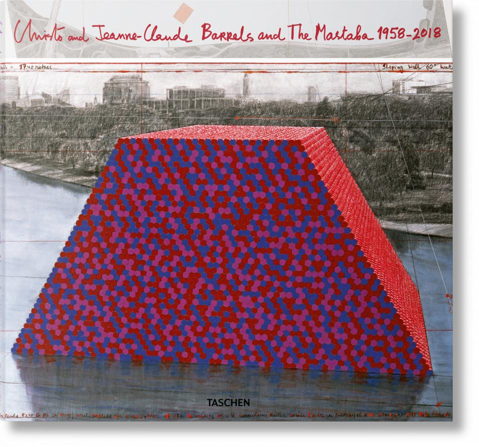 Christo and Jeanne-Claude Barrels and The Mastaba 1958-2018