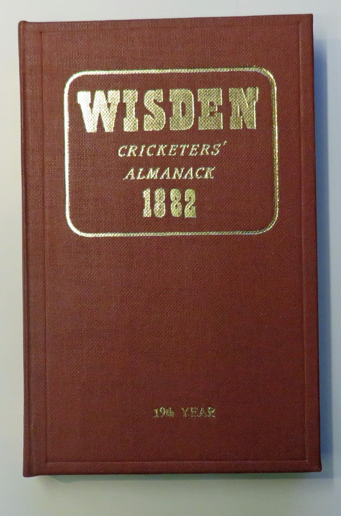 **John Wisden's Cricketers' Almanack For 1882
