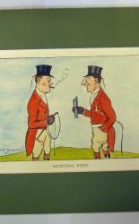 H.M. Bateman Print Hunting Port