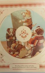 Happy Seasons  a 1990 Appointment Calendar with Antique Revolving Pictures