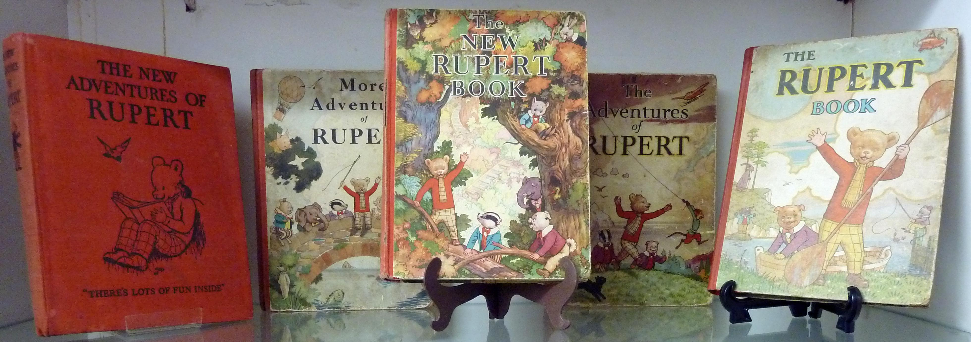 Rupert Annuals Complete Collection from 1936- 1999