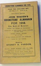 **John Wisden's Cricketers' Almanack For 1918