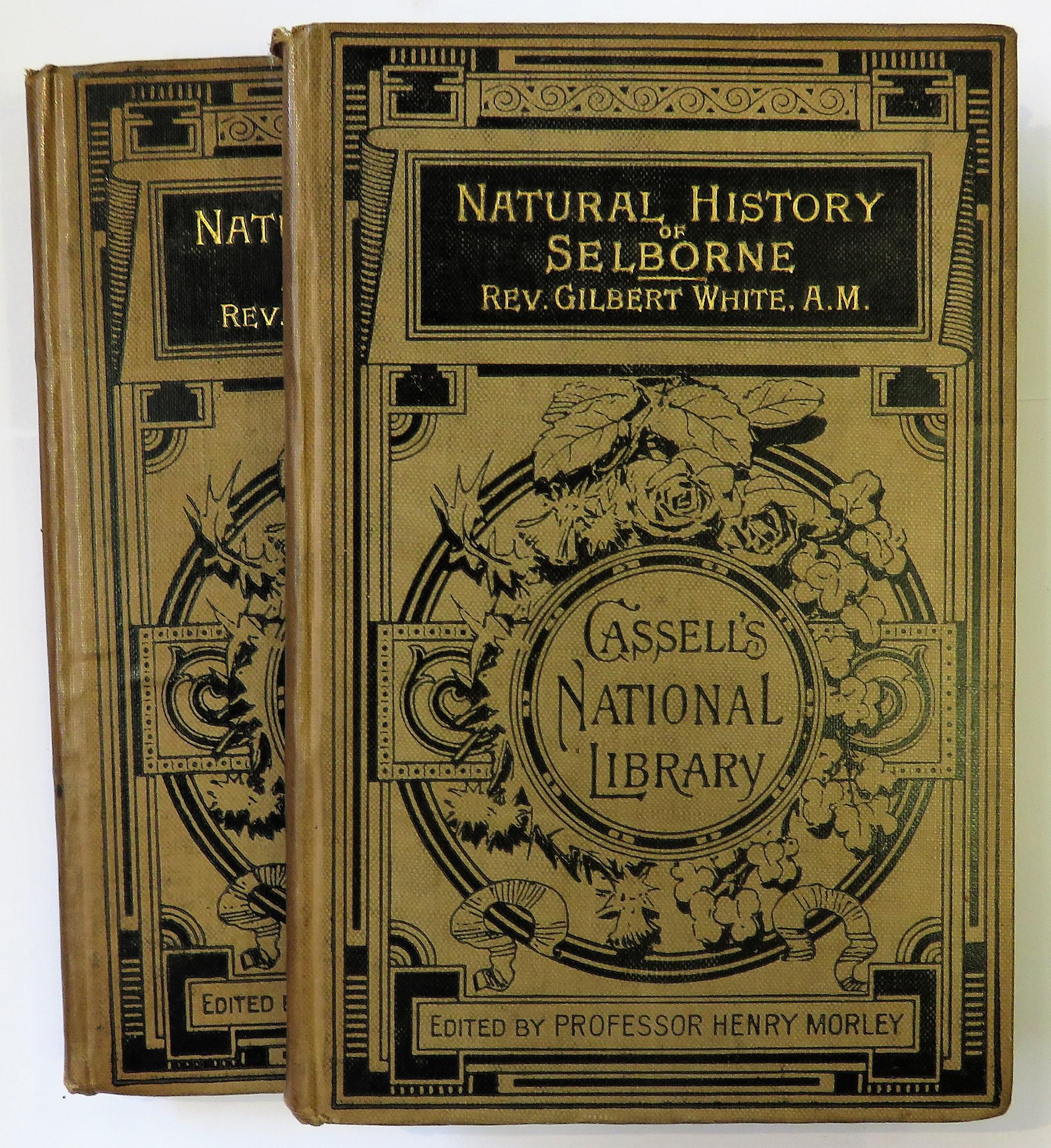 The Natural History Of Selborne two volumes