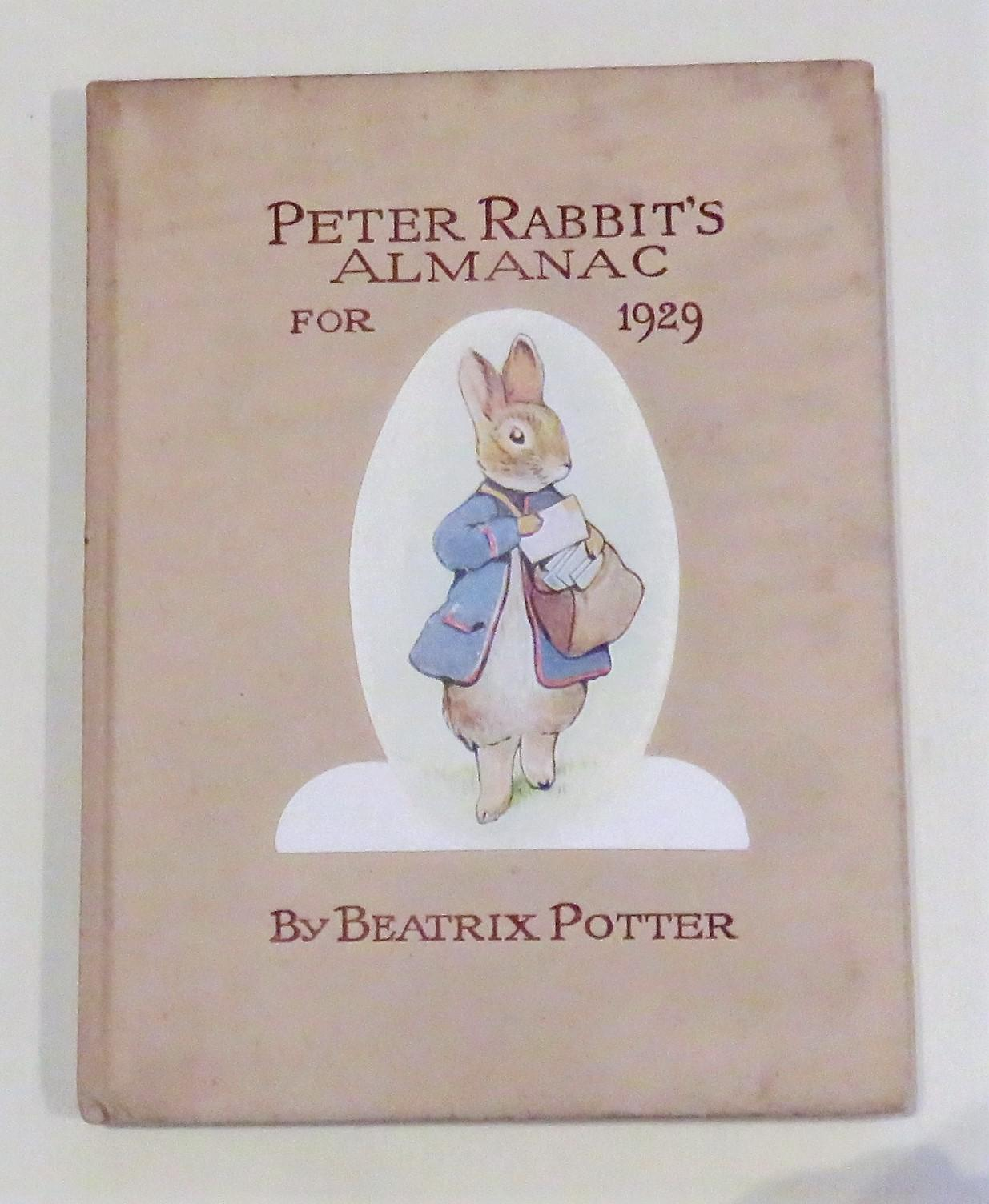 Peter Rabbit's Almanack for 1929